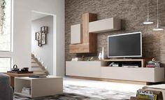 Living Room Wall Units, Living Room Modern, Home Living Room, Living Room Designs, Living Room Decor, Tv Unit Interior Design, Tv Unit Design, Tv Wall Design, House Design