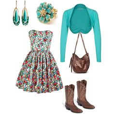 Love this Aqua Meadows, super cute for spring teen fashion