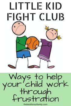 Ways to help your child work through frustration