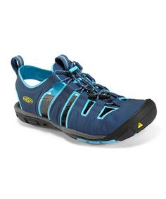 Take a look at this Ensign Blue & Norse Blue Cascade CNX Closed-Toe Sandal - Women by KEEN on #zulily today!