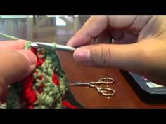 Strawberry stitch in regular crochet-3 - YouTube