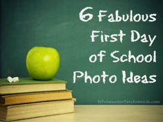 First day of school photo ideas - a simple and fun collection of first day of school photo ideas. Get ready for back to school.