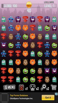 App Shopper: Monster Match-Three-way Saga Free (Games)