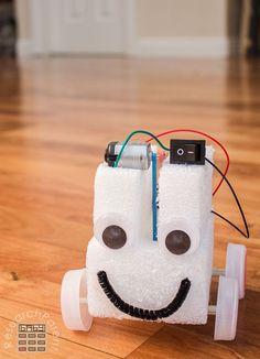 Simple Homemade Robot Car
