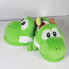 Super Mario Yoshi Slipper