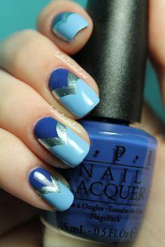Fishtail Nails Caitlin'sCreativeCorner