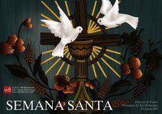 Capa da programação da Semana Santa - 2014 - Florânia-RN