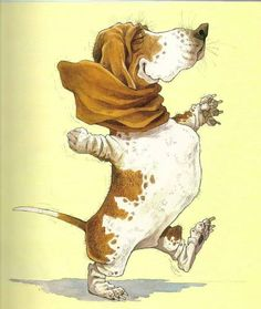 dog illustration - how cuuuuute!