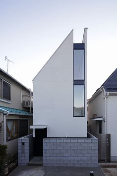 Dwelling In Density: Tokyo's Super Skinny Homes - Explore, Collect and Source architecture