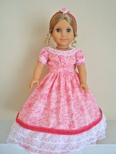 RESERVED FOR VAN American Girl Doll Clothes by BackInTimeCreations