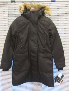 New NOBIS MERIDETH Women s Coat Jacket - Medium M Crosshatch Black 0f85016ded61