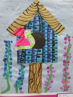 22 Ideas Bird Art Projects For Kids Shape Kindergarten Art Lessons, Art Lessons For Kids, Art Lessons Elementary, Art For Kids, Spring Projects, Diy Art Projects, Shapes For Kids, Disney Concept Art, Spring Art
