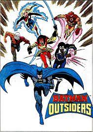 Batman and the Outsiders, Katana, Metamorpho, Geo-Force, Halo