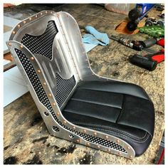 Designed & built by Ryan's Sheetmetal Designs. Bad ass seat perfect for rat rod builds.