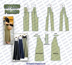 Awesome 50 Sewing tutorials projects are available on our web pages. Take a look and you wont be sorry you did. Sewing Dress, Sewing Pants, Dress Sewing Patterns, Sewing Clothes, Clothing Patterns, Diy Clothes, Jumpsuit Pattern, Pants Pattern, Fashion Sewing