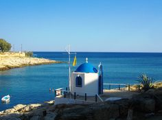 chapel at the small fishing port at Kallipolis, Peiraias Greece Saint Nicholas, Athens, Surfboard, Greece, Coast, Fishing, In This Moment, Island, City