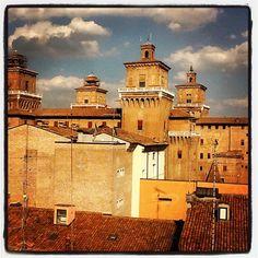 Wonderful #Ferrara - Instagram by @travelwithkat