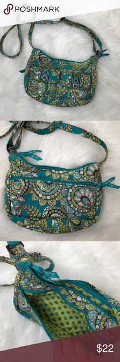 Vera Bradley Cross Body Purse Description: Super cute.  ⚠️I always look through each item throughly once received and right before shipping, but things can be missed. Just let me know, so I can improve.⚠️  🚫NO TRADES/NO HOLDS🚫  Please ask questions❓  💜Thank you for checking out my closet and don't be afraid to submit an offer💜 Vera Bradley Bags Crossbody Bags
