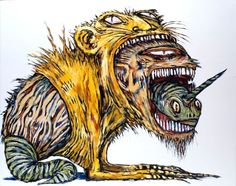 Your business is in the Abarat. — (via Clive Barker | Beasts of Abarat.)