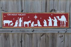 Christmas Nativity Sign with FrogTape® for Texture!  #TexturedSurface