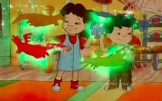 """19 Reminders Why Max And Emmy From """"Dragon Tales"""" Were The Coolest Dragon Kid, Dragon Tales, With All My Heart, Kids Shows, Animation Series, Night Time, Childhood Memories, Wish, Coloring Pages"""