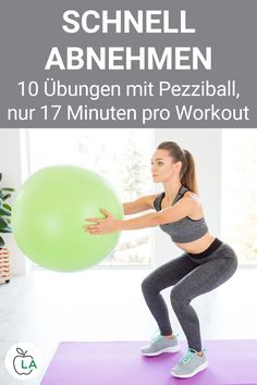 Exercise Ball Exercises - Lose weight quickly with these Pezziball exercises - With our exercise ball exercises for home you can quickly lose weight and tighten your stomach and - How Are Things, Hockey Coach, Fat Burning Workout, Sports Activities, Fitness Motivation Quotes, Health Fitness, About Me Blog, Lose Weight, Sporty