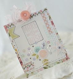 ~Make a Wish~     Mornin'! I've got a quick post for today.     Do you love stationary as much as I do? Paper with letterheads, decorati...