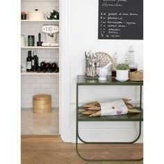 TATI CONSOLE 65, ASPLUND. Several choices for top and metal frame.