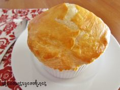 Homemade Chicken Pot Pie has the most delicious homemade, creamy filling with an easy puff pastry crust. A family favorite for generations! Cooks Country Recipes, Country Cook, Homemade Chicken Pot Pie, Chicken Recipes, Slow Cooker Recipes, Cooking Recipes, Pie Recipes, Recipies, Country Chicken
