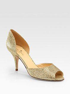 Kate Spade New York Sage Glitter d'Orsay Pumps to match the ones that you were originally thinking of...