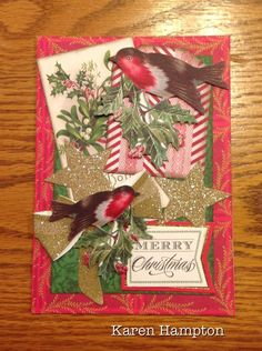 Anna Griffin Holiday Traditions Christmas card