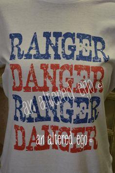 Ranger Danger Tee-texas  rangers  baseball  ranger danger
