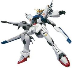 The Gundam F91 (F91 standing for Formula 91) is the titular mobile suit of Mobile Suit Gundam series.