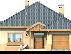 DOM.PL™ - Projekt domu DN Verona CE - DOM PC1-13 - gotowy koszt budowy Beautiful House Plans, Beautiful Homes, Tiny House Living, My House, 1, Cabin, House Styles, Outdoor Decor, Home Decor