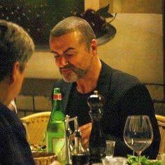 George Michael verre vin