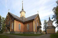 Lomaseutu - Kivijärven kirkko