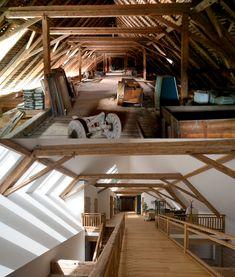 Barn Renovation, Barn House Plans, Small Loft, Loft House, Spanish House, Attic Rooms, Home Upgrades, Fixer Upper, Home Fashion