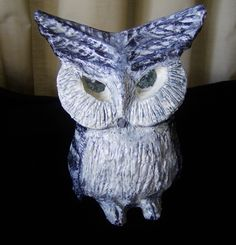 Serious Owl  - www.etsy.com/shop/inkydreamz