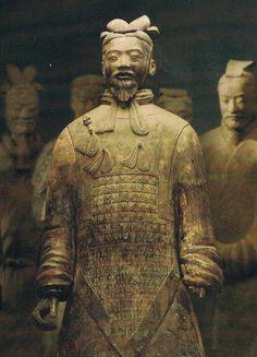 terracotta warriors (c/o Veranda China Travel, China Trip, Terracotta Army, Art History Lessons, Asian Artwork, Angel Statues, Chinese Antiques, Freundlich, Ancient Art