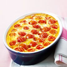 Clafoutis de tomate express