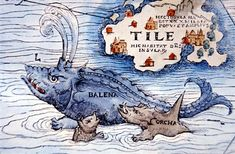 old maps with sea monsters - Google Search