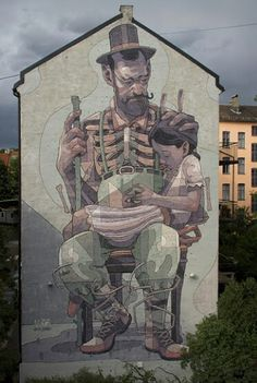 Aryz New Mural In Oslo, Norway