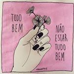 Tá tudo bem. Ilustra via @nanaths. #nanaths #ilustração #followthecolours #inspiracao