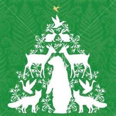 xmas tree silouettes - Bing Images