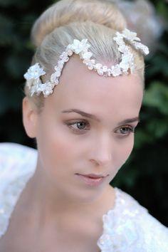 Bridal headpiece www.parantparant.se