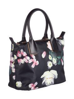 Kensington Floral Small Nylon Tote -laukku