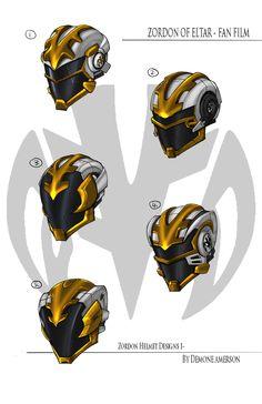 Zordon Helmet by BoredToLife on DeviantArt Power Rangers Helmet, Power Rangers Megazord, Pawer Rangers, Power Rangers Art, Robot Concept Art, Armor Concept, Weapon Concept Art, Fantasy Character Design, Character Design Inspiration