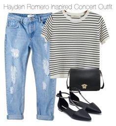 """""""Hayden Romero Inspired Concert Outfit"""" by staystronng ❤ liked on Polyvore featuring MANGO, Chicnova Fashion, Zara, Summer, concert, tw and HaydenRomero"""
