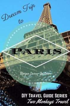 Europe Trip: DIY Guide to your  Dream Trip to Paris, France Paris… the City of Lights! The city is famous for the grandeur of its architecture, arts, fashion and food. Paris can be one of the most expensive cities in Europe to visit. However, there is still a way to enjoy it with a tight budget.