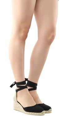 CASTAÑER   Castañer Castañer Carina Canvas Wedge Espadrilles #Shoes #Flat Shoes #CASTAÑER